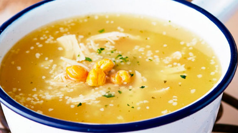 como hacer sopa de garbanzos