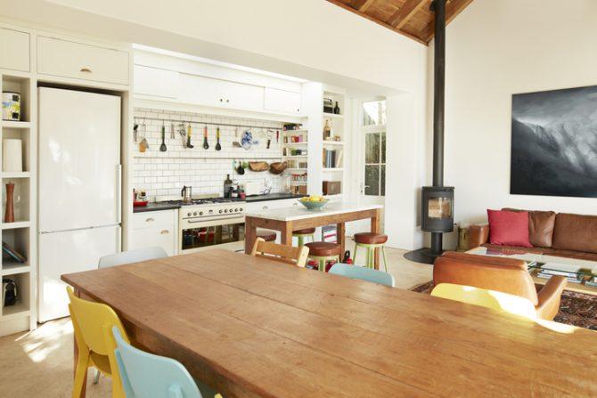 limpia tus muebles de madera con bicarbonato de sodio