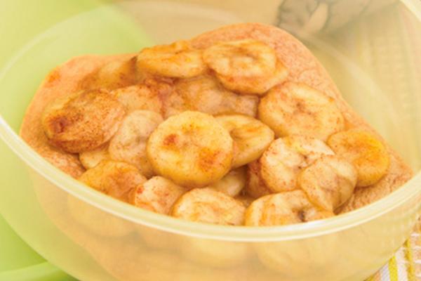 Plátanos tostados