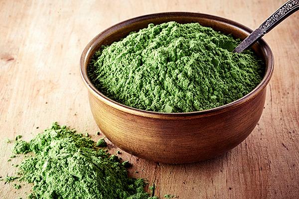 polvo de alga