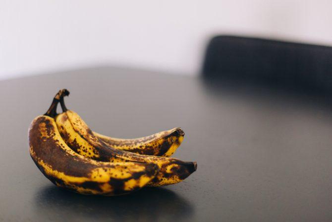 que pasa si como un plátano cuando esta negro