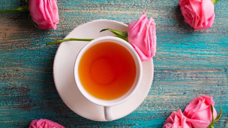 té de rosas