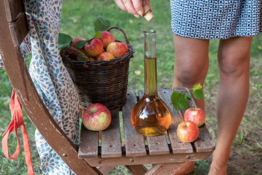 Vinagre de manzana para las várices